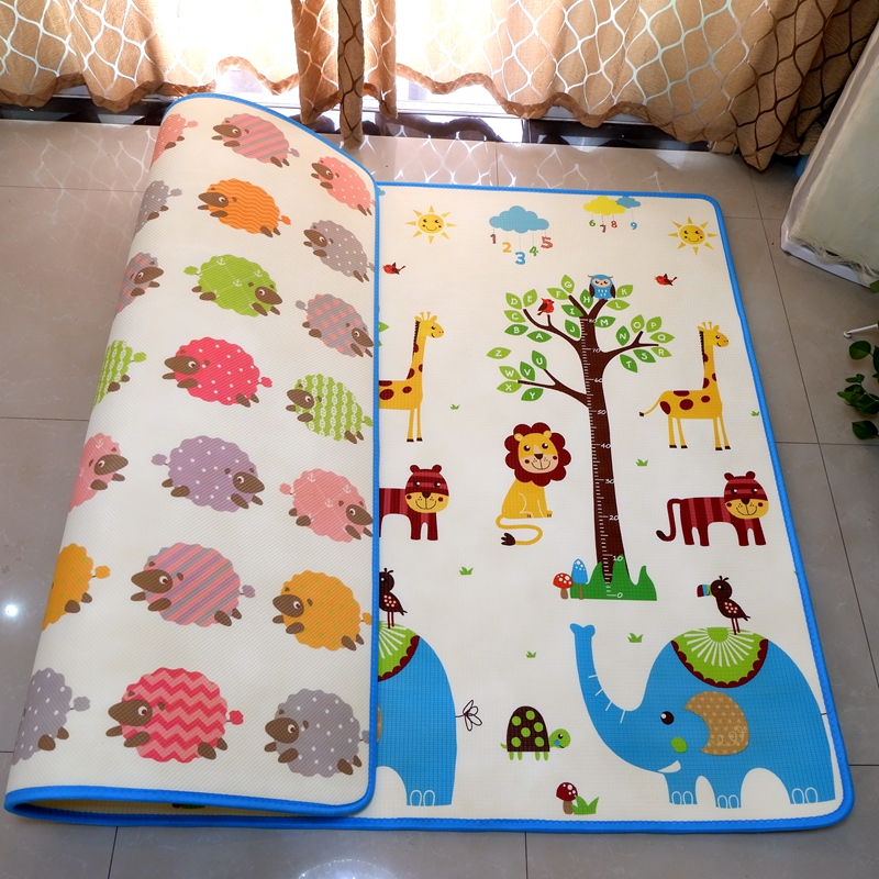 цена Infant Shining Baby XPE Play Mat Game Pad Living Room Crawling Carpet Puzzle Mat XPE Crawling Blanket Thickened Infantil Mat