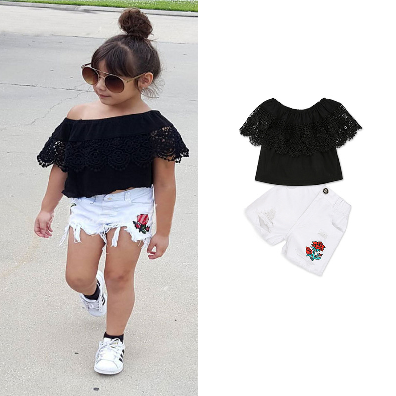 3Pcs Baby Girl Clothes Summer Baby Girl Clothing Sets Children Clothing Roupas Bebe Infant Baby Costume Kids T-shirt Shorts 2pcs baby boy clothing set autumn baby boy clothes cotton children clothing roupas bebe infant baby costume kids t shirt pants