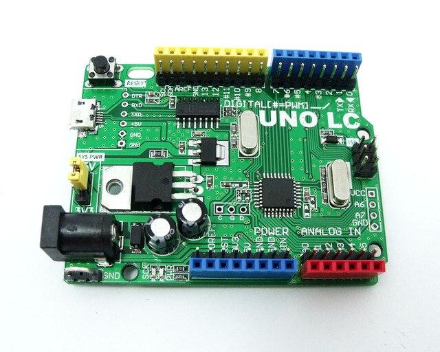 MassDuino UNO R3 LC MD-328D 5 V 3,3 V Entwicklung Board für Arduino Kompatibel Niedrigen Kosten Hohe leistung 10 12 16bit ADC inhaos