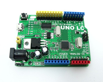 MassDuino UNO R3 LC MD-328D 5V 3.3V  Development Board for Arduino Compatible Low Cost High performance 10 12 16bit ADC inhaos