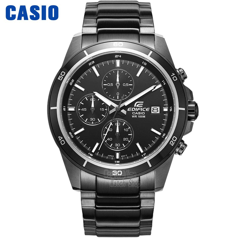 Casio Watch Quartz Time Waterproof Racing Men's Watch EFR-526BK-1A1 EFR-526BK-1A2  EFR-526BK-1A9  цена