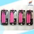 Замена для iPhone SE 5SE Полный Металлический Корпус Сплава Батареи дверь Задняя Крышка + гибкий кабель + кнопки ассамблеи 1 шт. бесплатная доставка