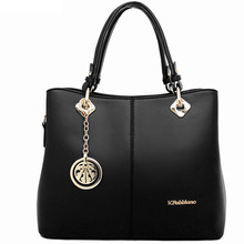 Femmes noir en cuir pu Sacs Zipper Doux Dames Sac de Haute Qualité Bolsas Femininas sac de mujer de marca de lujo épaule sac