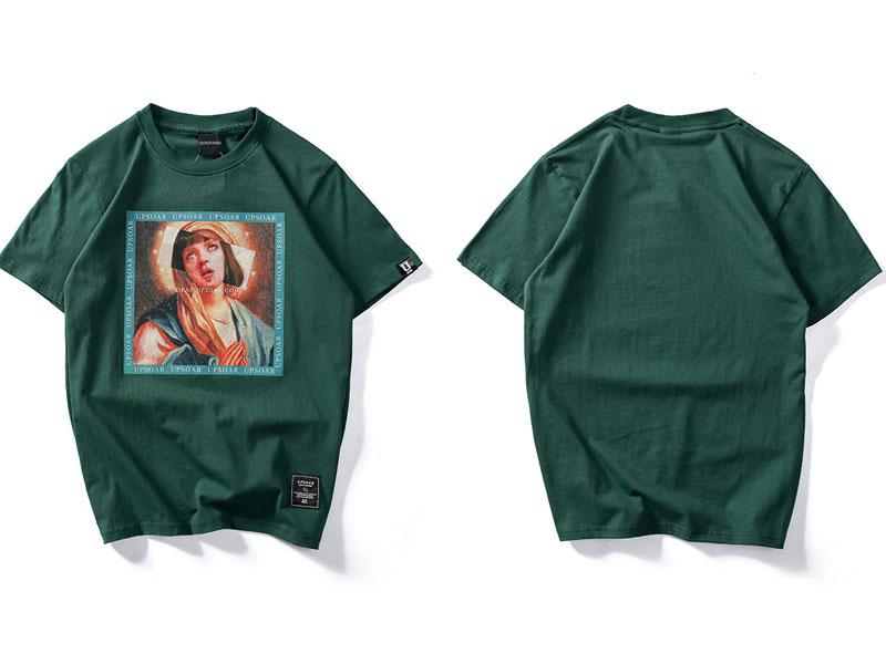 Virgin Mary Men's T-Shirts 1