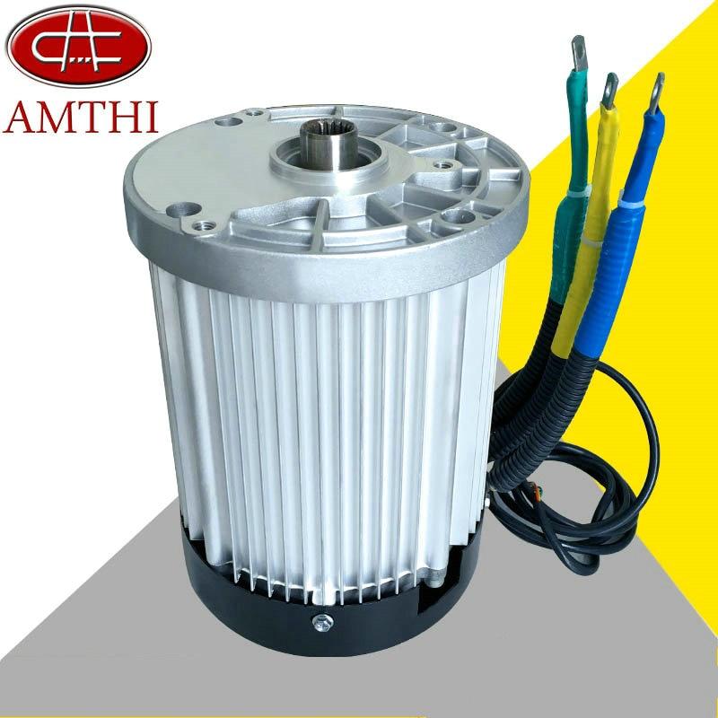 60v3000w 4600rpm permanent magnet brushless dc motor for Brushless dc electric motor