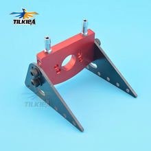 RC Boat Good Quality Aluminum Watercool Motor Mount for 540 550 Motor Water Cooling Holder(China)