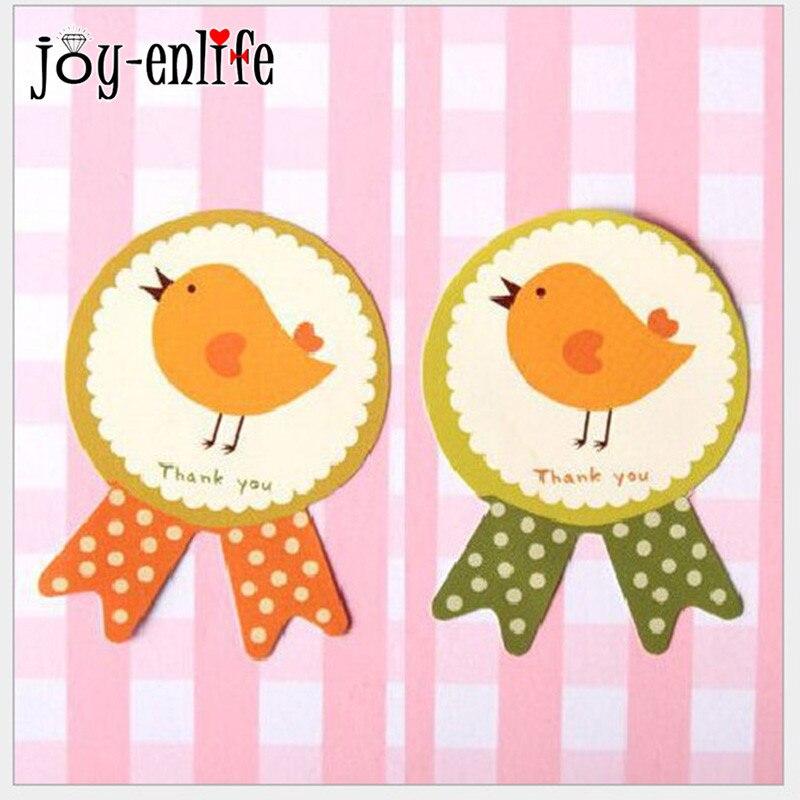 ᑐjoy enlife 80pcs lot funny thank you chicken seal sticker cake