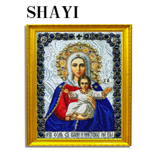 Diamond Cross Stitch Embroidery 5D Diy Religion Portrait Mosaic Home Decor L018