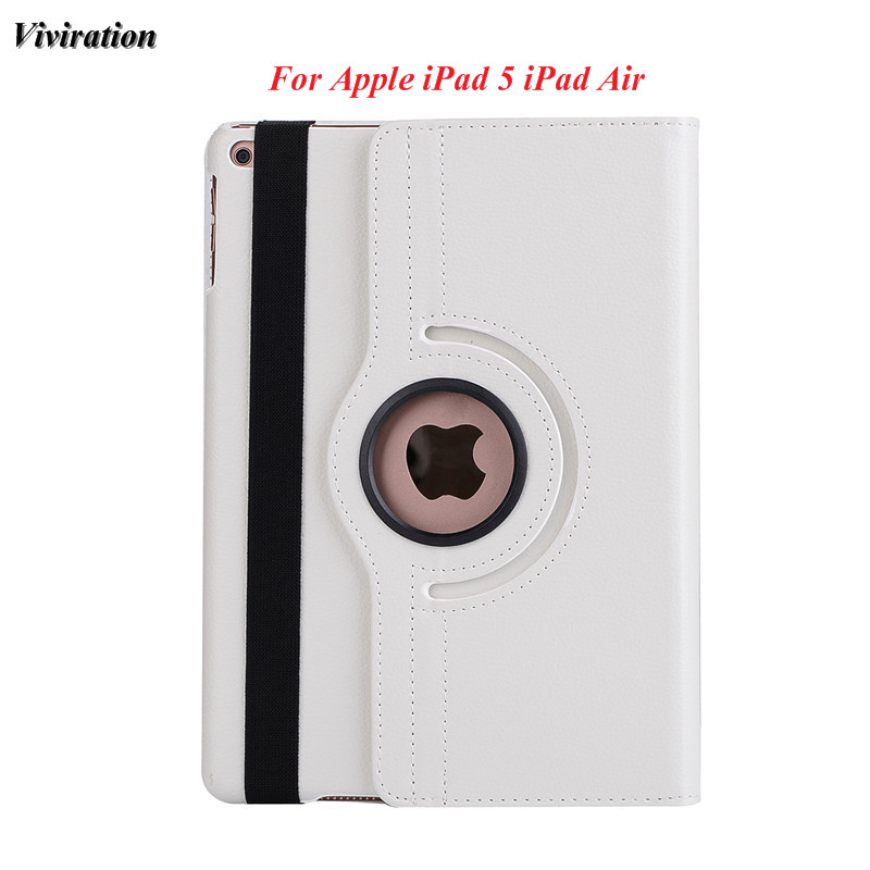 Viviration 360 Rotating Good Use Tablet Case For Apple iPad Air / iPad 5 Luxury Smart Fl ...