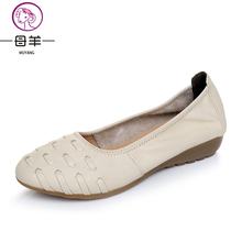 Women flats  Comfortable and delicate soles house informal footwear for ladies's footwear Genuine leather-based ladies's footwear Women flat footwear
