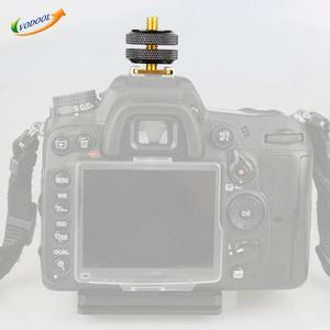"""Image 2 - VODOOL 1Pc Heißer Schuh für Nikon Zubehör 1/4 """"Stativ Schraube Heißer Schuh Adapter Halter Halterung Foto Zubehör für NIKON SC 28 FLASH"""