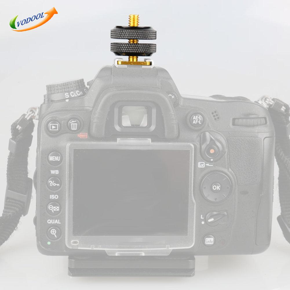 """Image 2 - VODOOL 1Pc Hot Shoe for Nikon Accessories 1/4""""Tripod Screw Hot Shoe Adapter Holder Mount Photo Accessories for NIKON SC 28 FLASH-in Photo Studio Accessories from Consumer Electronics"""