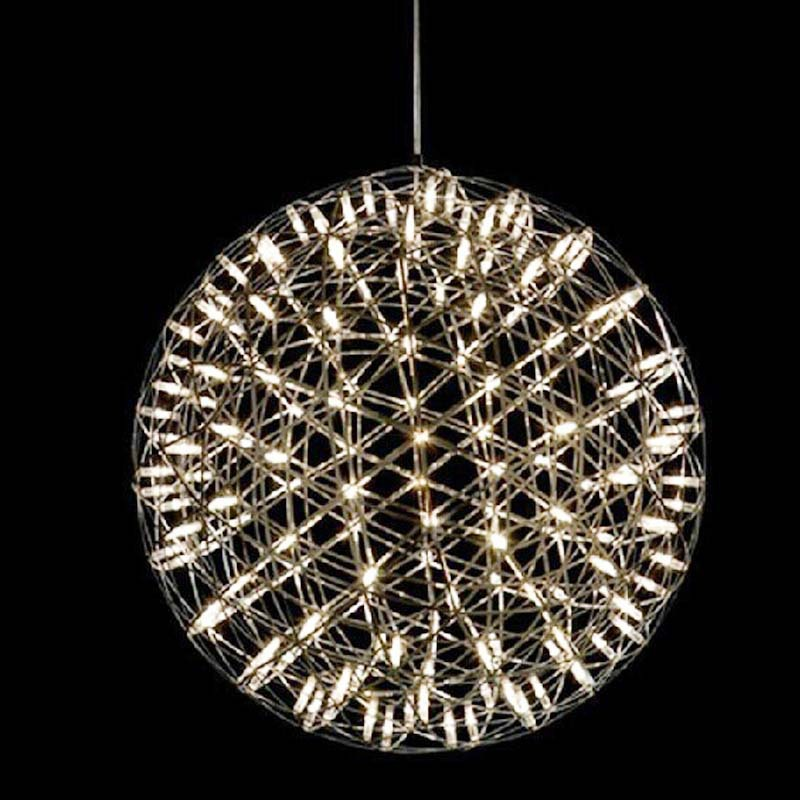 Modern Pendant Light Material Stainless Stee of Ball Art Decorative Led Star Living Room Hotel Lamp Pendant LightsModern Pendant Light Material Stainless Stee of Ball Art Decorative Led Star Living Room Hotel Lamp Pendant Lights