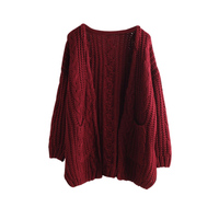 BONJEAN 2017 Korean Style Cardigans Sweaters Women Kawaii New Autumn Winter Retro Cute Coat Long Cardigan