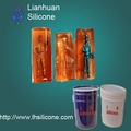 Professional silicone liquid for mold making of resin, gypsum, plastic ,GRP material products
