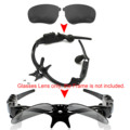 1 par de Repuesto Lente de gafas de Sol Polarizadas THB-368 Inalámbrica Bluetooth fone de ouvido Auriculares gafas de Sol lentes
