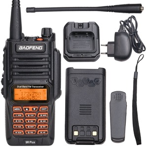 Image 5 - 2PCS Baofeng UV 9R בתוספת מכשיר קשר 8W גבוהה כוח UHF VHF להקה כפולה IP67 עמיד למים נייד שתי בדרך מכשירי רדיו