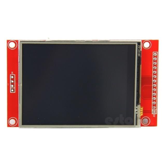 """2.8 """"240x320 SPI TFT ЖК-дисплей последовательный Порты и разъёмы модуль + PCB адаптер Micro SD ILI9341 5 В/ 3.3 В-R179 Прямая доставка"""