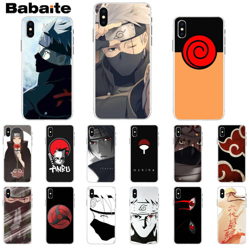 Babaite Hokage Naruto Kakashi anime Japonês Projeto Unique Luxury Tampa Do Telefone para o iPhone Da Apple 8 7 6 6 S Plus X XS MAX 5 5S SE XR