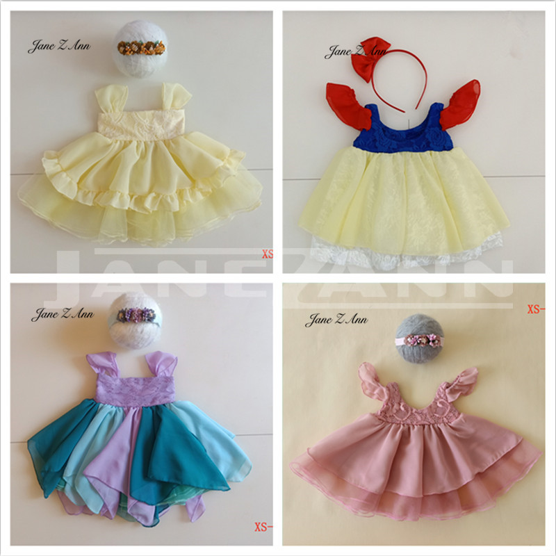 Jane Z Ann Newborn Photography Clothing Baby Princess Costume Headwear Dress Studio Photo Taking Accessories Creative Ideas Hats Caps Aliexpress