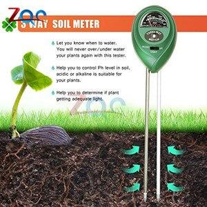 Image 4 - 3 in 1 Soil PH Water Moisture Meter Acidity Humidity Sunlight Garden Plants Flowers Moist Tester Instrument Tool