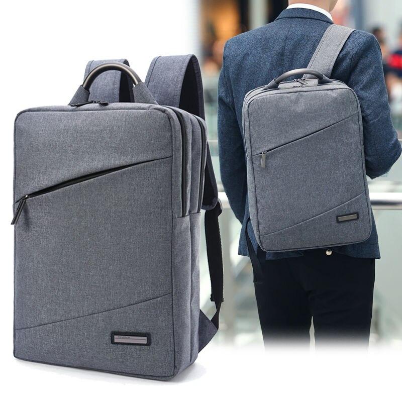 Купить с кэшбэком Tuguan Women Men Business Travel Backpacks 15.6 Laptop Backpack School Bag Casual Unisex Shoulder Bags Brands Designer Wholesale