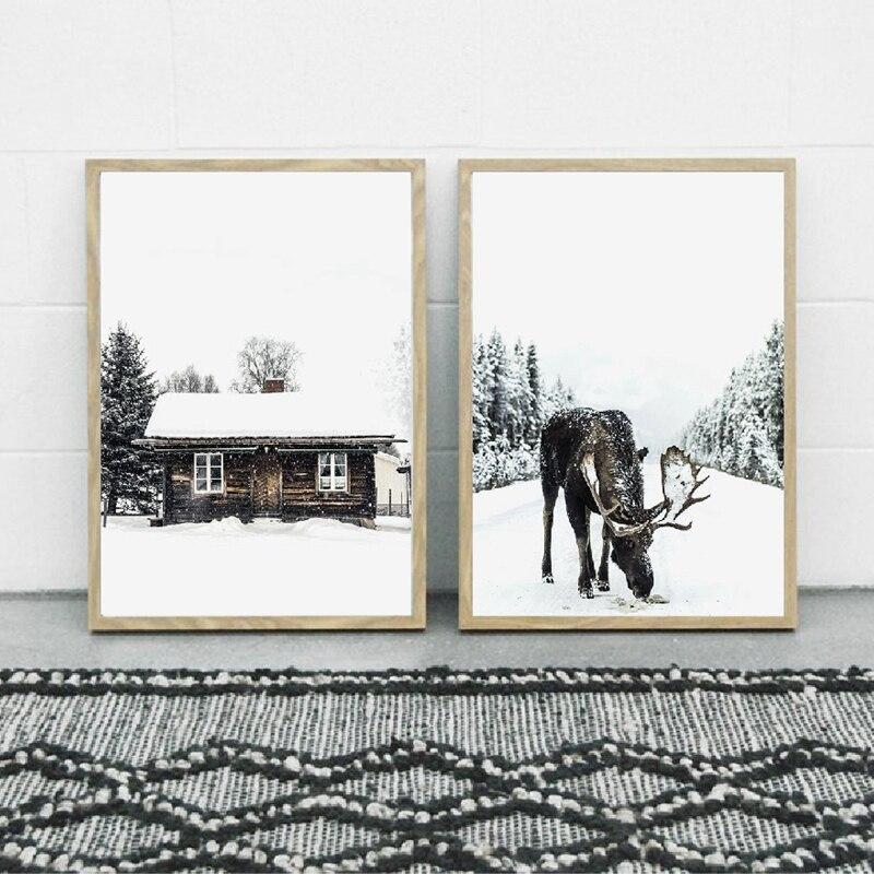 Winter Forest Wall Art Print