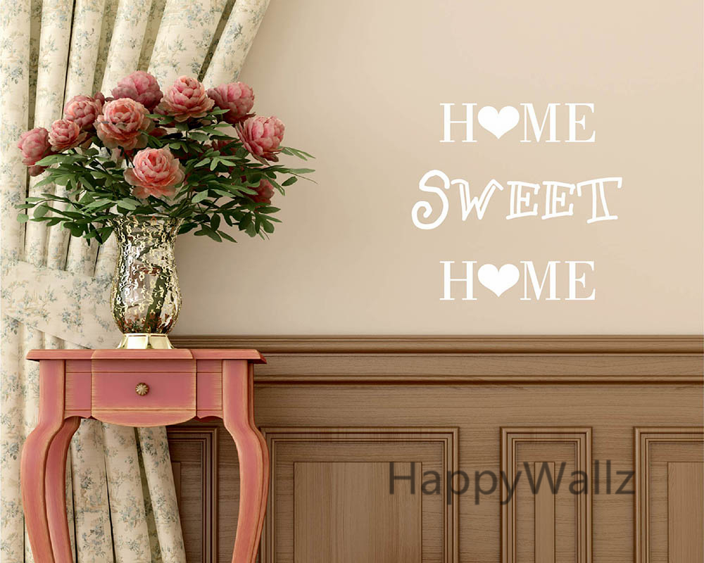 top buy home sweet home family quote wall sticker decorating diy family  home sweet home lettering quote wallpaper custom colors q from with home  sweet home.