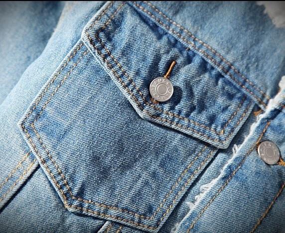 Warm Fleece Denim Jacket 2018 Winter Fashion Mens Jean Jacket Men Jacket and Coat Trendy Outwear Male Cowboy Clothes homme S-2XL 4