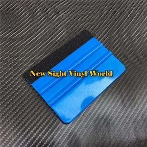 Image 5 - 100 pcs/Lot Soft Felt Scraper Scraper Squeegee Car Application Tools Car Wrapping Tool