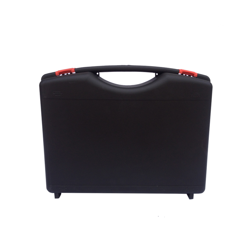 SQ004 Simple Hard Toolbox Durable Small Plastic Tool Carrying Case With Pre-cut Foam