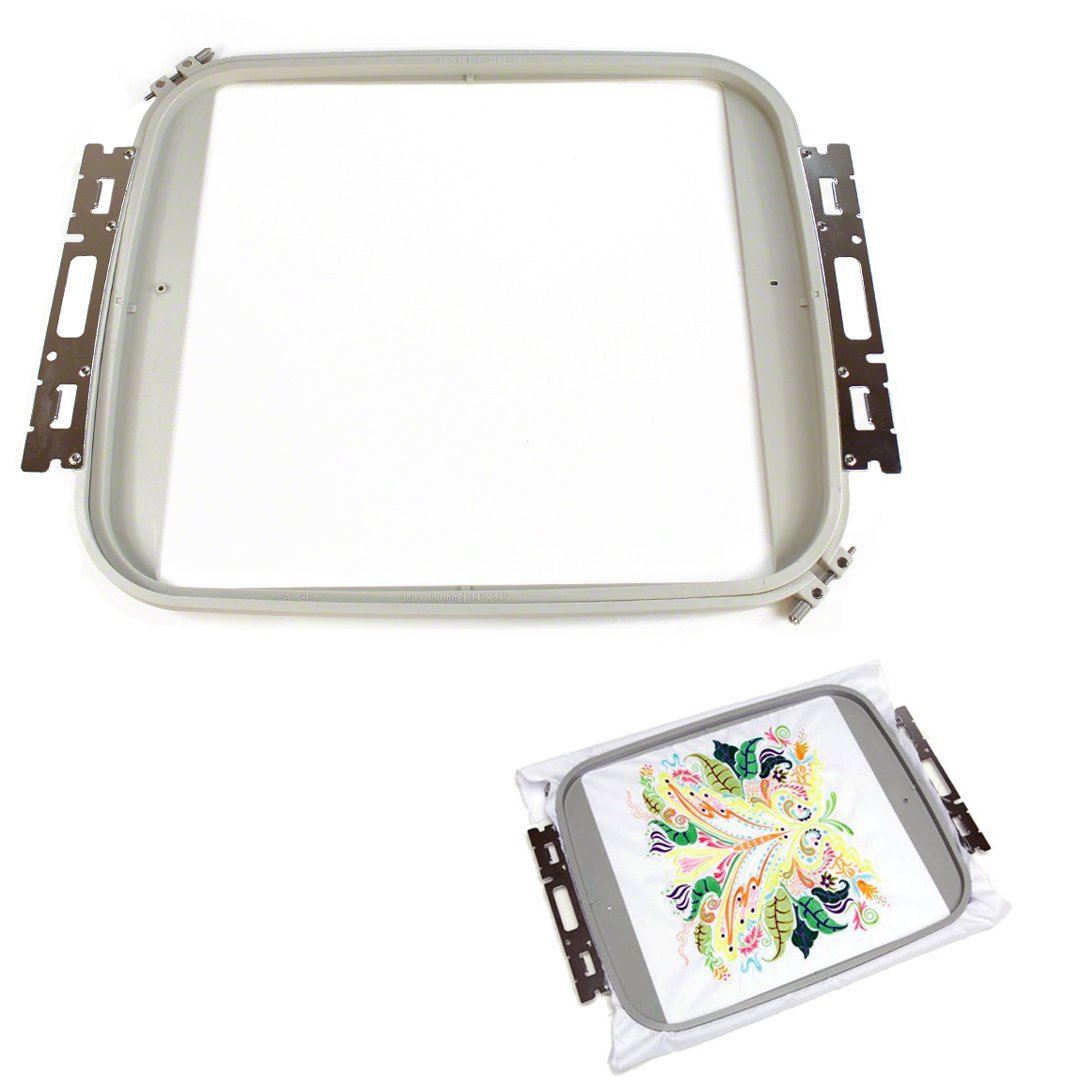 Jumbo Hoop for Brother PR1000 Embroidery Machine 14x14 PRPJF360Jumbo Hoop for Brother PR1000 Embroidery Machine 14x14 PRPJF360