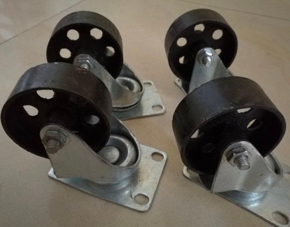 roulettes universelles style retro amerique roue de 3 5 pouces d 8cm total h 11 5cm lot de 4 pieces