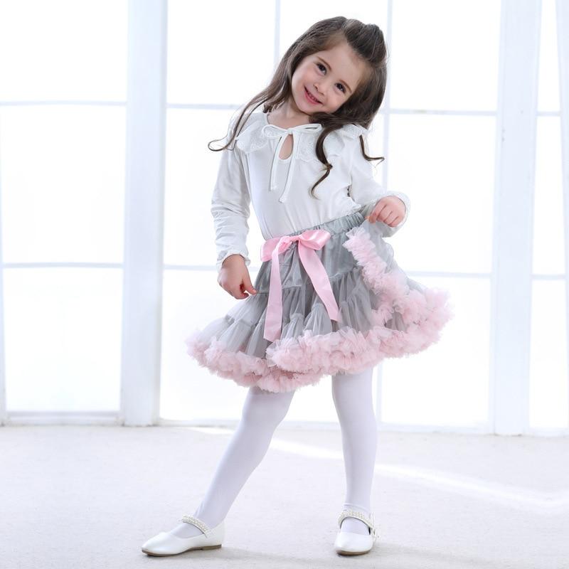 Baby Girls Mesh Tutu Skirts Children Princess Ballet Dress Clothing 2018 New Fashion Toddler Girl Tutu Dresses Party Gifts