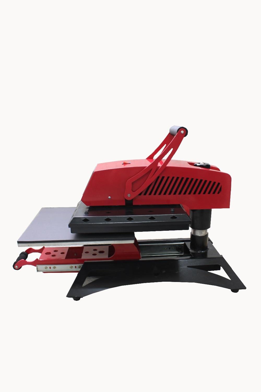 Swing away high pressure drawer heat press machine