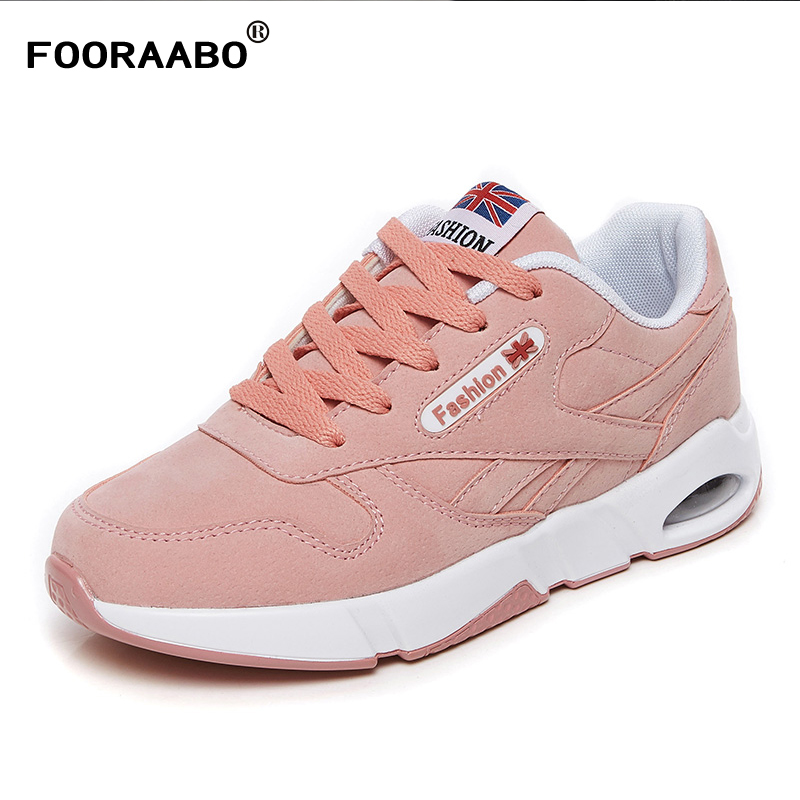 2018 New Spring Women Trainers Breathable Casual Shoes Fashion Woman Leather Tenis Feminino Sapato Women Flats Zapatillas Mujer ceyue fashion brand women shoes breathable air mesh trainers 2017 spring autumn casual shoes woman walking flats tenis feminino