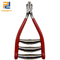 POWERTI Starting Clamps Tennis Racket Stringing Machine Red Badminton Stringer Grip Tools Stringing Parts Three Spring