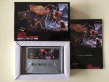 16Bit Giochi ** Cavalieri della Rotonda (PAL Versione!! Box + Manuale + Cartuccia!!)