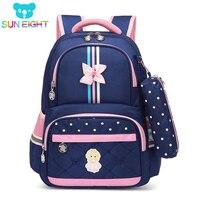 Hot 1 3 Grade Girls School Bag School bags For Girls Children Backpacks Girl School Backpack Kids Bag Cross Bow Mochila Infantil