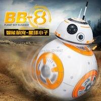 Schnelles Verschiffen BB-8 Ball Star Wars RC Action Figure BB 8 Droid Roboter 2,4G Fernbedienung Intelligente Roboter BB8 Modell Kind Spielzeug geschenk