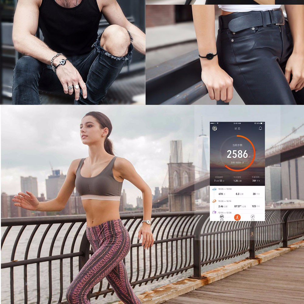 Original Xiaomi Mi Band Bracelet Amazfit Smart Wristband Fitness Sleep tracker Call Reminder with Wireless Charging 3
