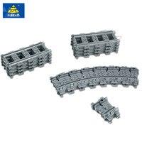 Toys For Children Building Blocks Rail Tracks For Train Straight Curved Furcal Soft Tracks Children S