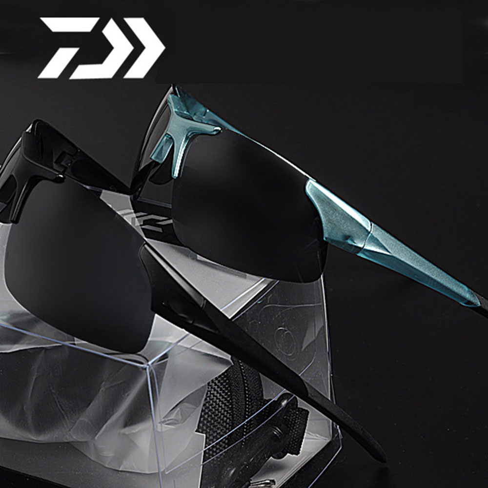 Daiwa outdoor Sport Fishing Sunglasses Men or Women Fishing glasses Cycling Climbing Sun Glasses with Resin lenses Polarized ...