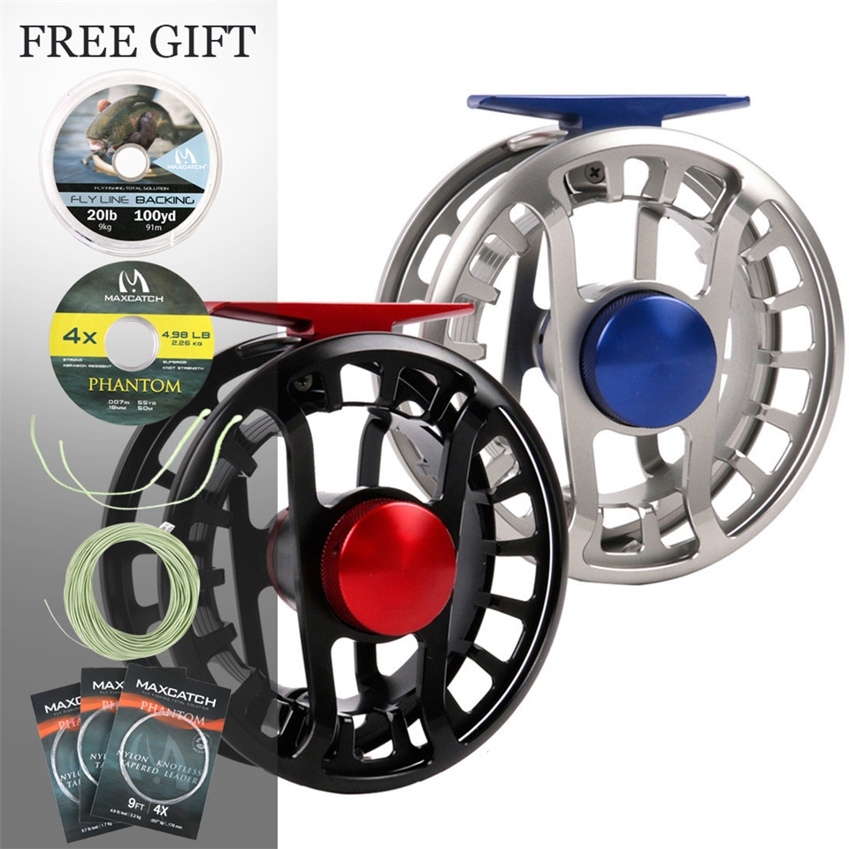 Maximumcatch FMD 5 13wt Fly Reel 100 Totally Waterproof Super Light Fly Fishing Reel Saltwater and