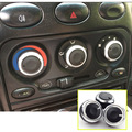 Aluminum SWITCH KNOBS FIT FOR Chevrolet Spark Chery QQ3 QQ6 HEATER HEAT CLIMATE CONTROL BUTTONS A/C Air Conditioning KNOB COVER