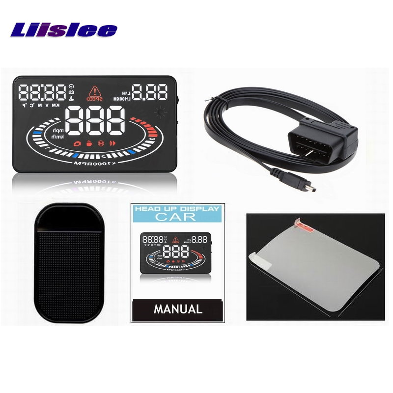 Liislee For Peugeot 607 806 807 Eurovans Car HUD Head Up Display Safe Driving Screen Projector Refkecting Windshield in Head up Display from Automobiles Motorcycles
