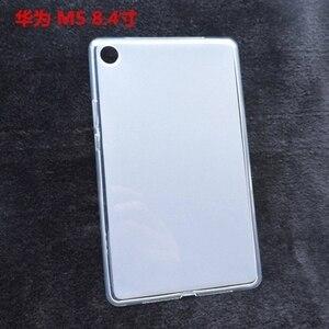 Для Huawei M2 M3 M5 lite 7,0 8,0 8,4 10,8 T5 10,1 дюйма Mediapad Media Pad, ТПУ силиконовый чехол для планшета, держатель задней крышки