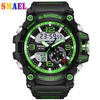 2019 New Luxury Brand Sport Watch Men G Style Waterproof Sports Military Watches S-Shock Men's Fashion Quartz LED digital watch