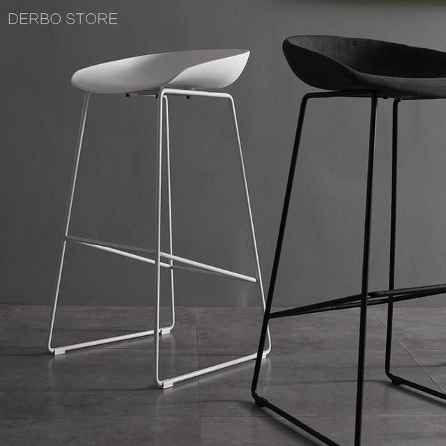 Diseño moderno altura del asiento 65 cm 75 cm taburete de la sala de ...