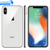 Original Unlocked Apple iPhone X Hexa Core Mobile Phone 256GB/64GB ROM 3GB RAM Dual Rear Camera 12MP 5.8 4G LTE Smartphone